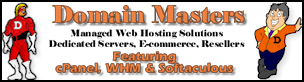Domain Masters Complete Web Hosting Solutions